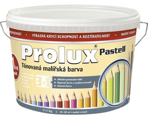 Oteruvzdorná farba na stenu Prolux Pastell žlto-oranžová 7 kg + 1 kg