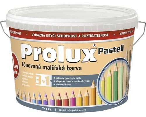 Oteruvzdorná farba na stenu Prolux Pastell marhuľová 7 kg + 1 kg
