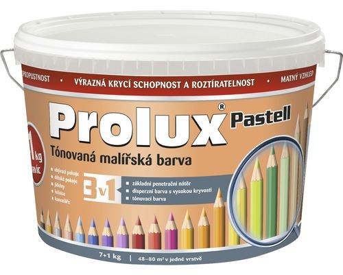 Oteruvzdorná farba na stenu Prolux Pastell oranžová pastel. 7 kg +1 kg
