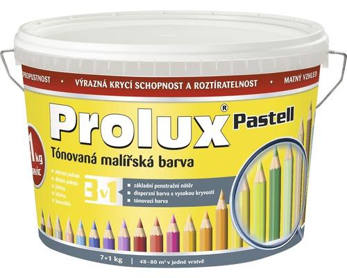 Oteruvzdorná farba na stenu Prolux Pastell svetložltá 7 kg + 1 kg