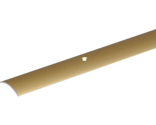Prechodový profil ALU zlatý elox 30x1,6 mm, 2 m