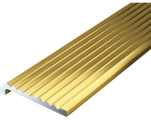 Ukončovací profil ALU zlatý elox 23x6,3x2 mm, 1 m