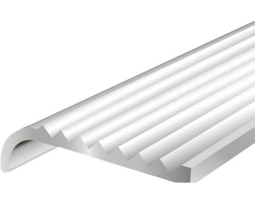 Schodový profil ALU strieborný elox 23x6,3x2 mm, 1 m