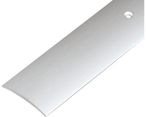 Prechodový profil ALU strieborný elox 30 mm, 0,9 m