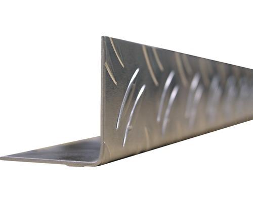 L profil ALU ryhovaný 23,5x23,5 mm, 2 m