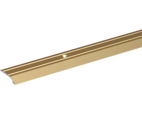 Ukončovací profil ALU zlatý elox 30x6,5x2 mm, 2 m