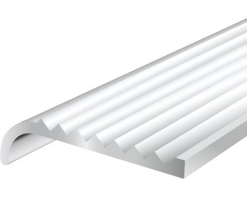Schodový profil ALU strieborný elox 23x6 , 3x2 mm, 2 m