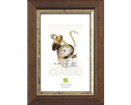 Drevený fotorámik rustikálny hnedý 42x29,7 cm