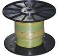 Žilové vedenie H07 V-U 1G6 mm² zeleno-žlté, metrážový tovar