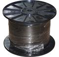 Dvojžilový kábel 2x0,75 mm² čierny, metrážový sortiment