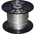 Silový kábel 2x0,75 mm² priehľadný, metrážový sortiment