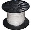 Silový kábel H03 VV-F 2x0,75 mm² biely, metrážový sortiment
