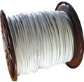 Silový kábel H05 VV-F 5G2,5 mm² biely, metrážový sortiment