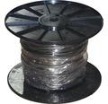 Silový kábel H03 VV-F 2x0,75 mm² čierny, metrážový sortiment