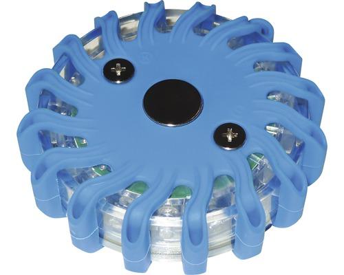 LED pracovné svetlo varovné 3xAAA modré