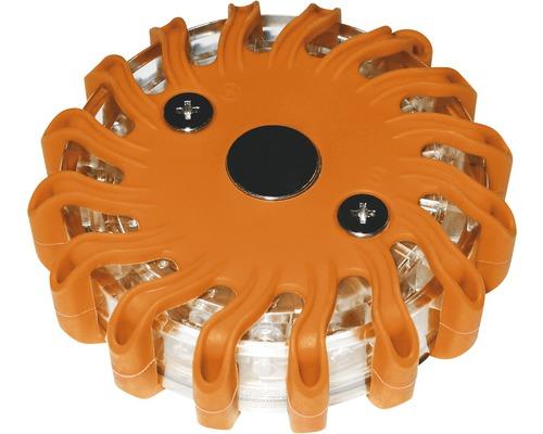 LED pracovné svetlo varovné 3xAAA oranžové