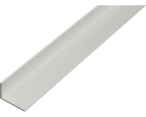 L profil ALU strieborný elox 50x30x2 mm, 1 m