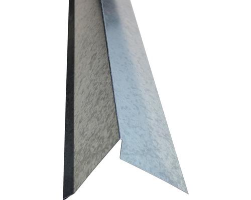 Plech krajový bez vodnej drážky pozink 0,5 mm, dĺžka 2 m