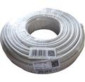 Koaxiálny kábel SD 90 1x1,0mm² biely 50 m