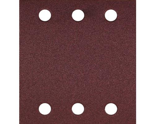 Brúsny papier pre multibrúsku, 115x107 mm, K60