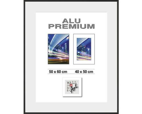 Hliníkový fotorámik WDR Duo čierny 50x60 cm
