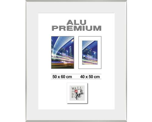 Hliníkový fotorámik WDR Duo strieborný 50x60 cm