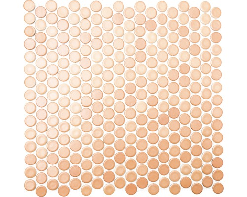 Keramická mozaika Gombík 902 terakota/hnedá 30,2 x 33 cm