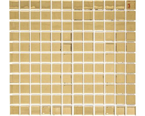 Sklenená mozaika CM 4GO1 zlatá 30,5x32,5 cm