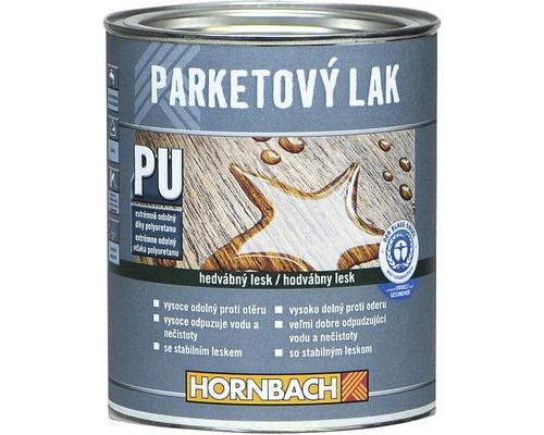 Lak na parkety Hornbach bezfarebný, hodvábne matný 750 ml