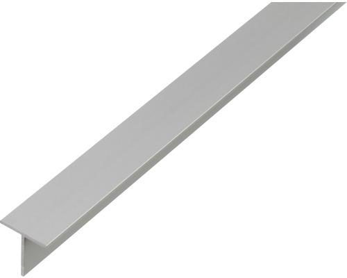 T profil ALU strieborný elox 15x15x1,5 mm, 2 m