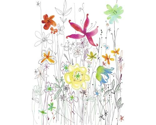 Fototapeta Kvetiny, kresba 184x248 cm