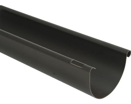 Odkvapový žľab Marley plastový hnedý Ø 125 mm, dĺžka 2000 mm