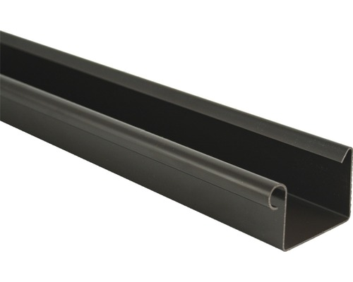 Odkvapový žľab Marley plastový hnedý Ø 70 mm, dĺžka 2000 mm