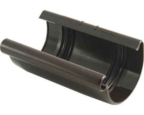 Spojovacia miska žľabu Marley plastová hnedá Ø 75 mm