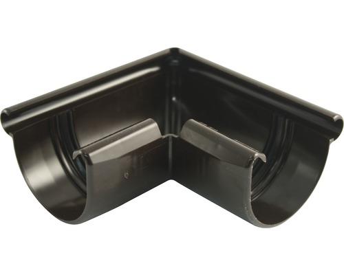 Vonkajší rohový diel odkvapu Marley plastový hnedý Ø 75 mm