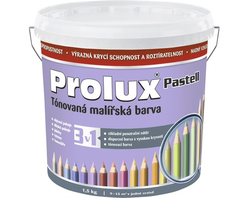 Oteruvzdorná farba na stenu Prolux Pastell fialová 1,5 kg