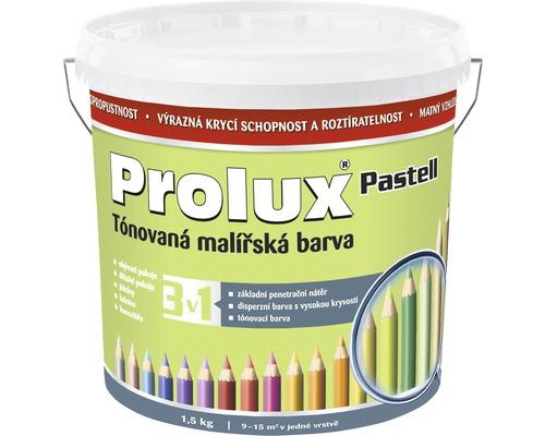 Oteruvzdorná farba na stenu Prolux Pastell svetlozelená 1,5 kg
