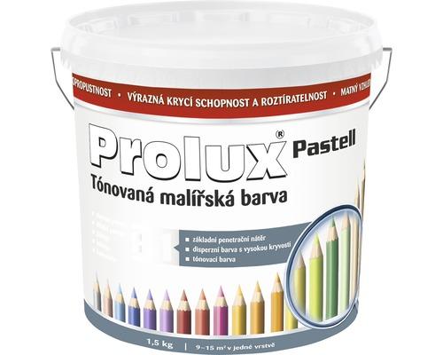 Oteruvzdorná farba na stenu Prolux Pastell biela 1,5 kg