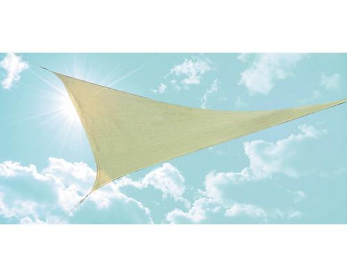 Tieniaca plachta trojuholníková béžová 360x360x360 cm