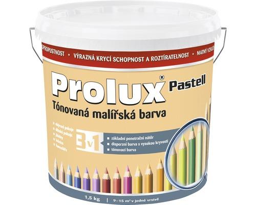 Oteruvzdorná farba na stenu Prolux Pastell marhuľová 1,5 kg