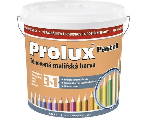 Oteruvzdorná farba na stenu Prolux Pastell oranžová pastel. 1,5 kg