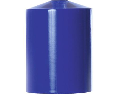 Kryt objímky, kovový tubus modrý