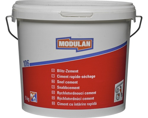 Rýchlotvrdnúci cement Modulan 106, 5 kg