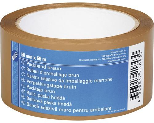 Baliaca páska 50 mm x 66 m hnedá