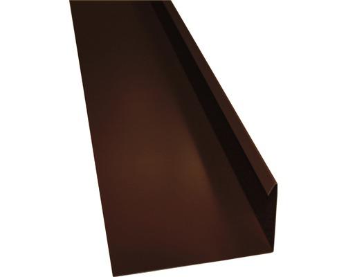 Úžľabie PRECIT s vodnou drážkou čokoládovo hnedá 1000 mm