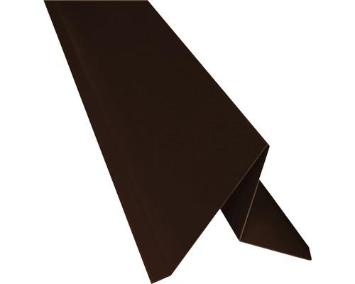 Štítový plech PRECIT bez vodnej drážky čokoládovo hnedá 2000 mm