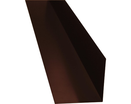 Úžľabie PRECIT bez vodnej drážky čokoládovo hnedá 1000 mm