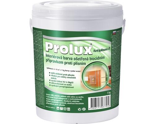 Prolux Antipleseň 2 biela farba na stenu 1 l