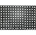 Gumová rohožka Domino voštinová čierna 100x150 cm