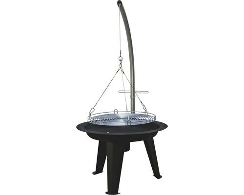 Gril na drevené uhlie závesný Tenneker® TC-Swing II Ø 50 cm